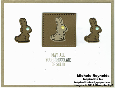 Basket bunch chocolate bunnies watermark