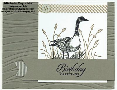 Wetlands goose wishes watermark