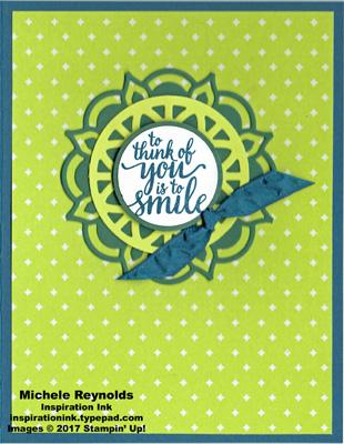 Eastern beauty medallion smile watermark