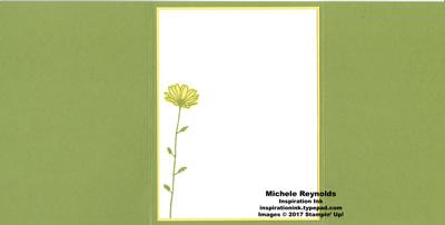 Daisy delight trifold daisy open watermark