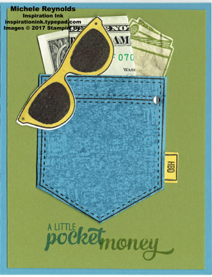 Pocketful of sunshine pocket money watermark