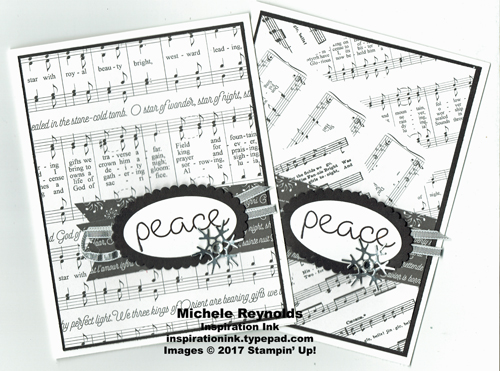 Christmas quilt black and white peace watermark