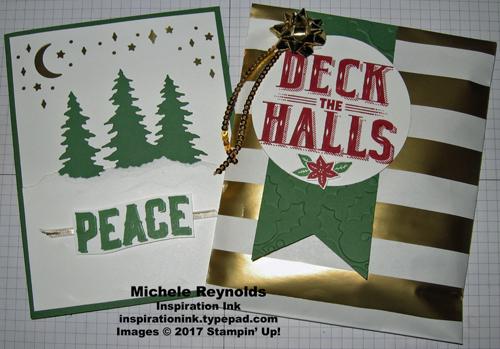 Carols of christmas team card and gift