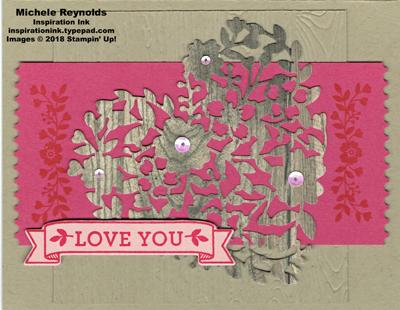 Bloomin love woodcut heart watermark