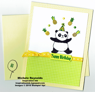 Party pandas tutti frutti juggling watermark