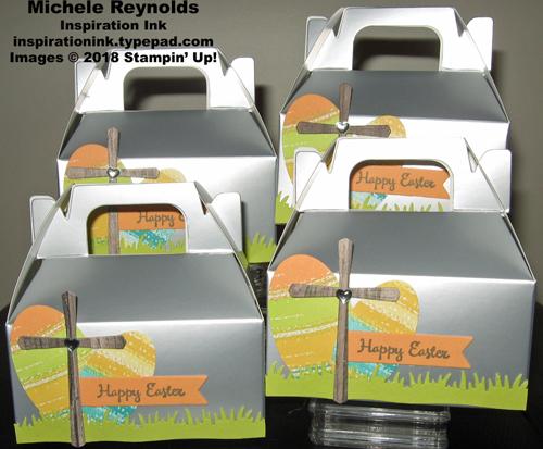 Work of art easter egg boxes