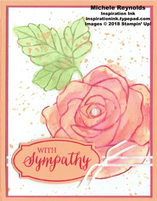 Rose wonder soft rose sympathy watermark