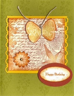 Birthday card from michelle hundertmark