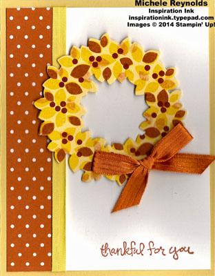Wondrous wreath fall wreath watermark