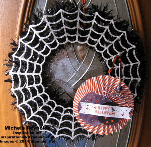 Boo-tiful bags kit halloween wreath watermark