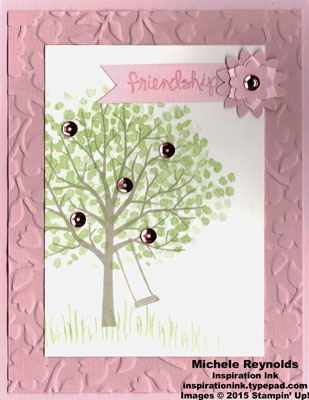 Sheltering tree cherry bloom friendship watermark
