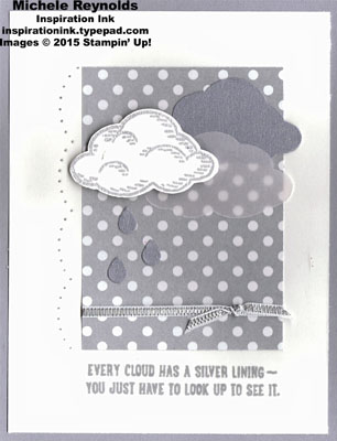 Sprinkles of life smoky and silver clouds watermark