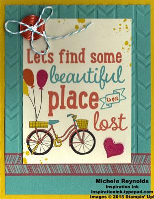 Let's get away get lost watermark