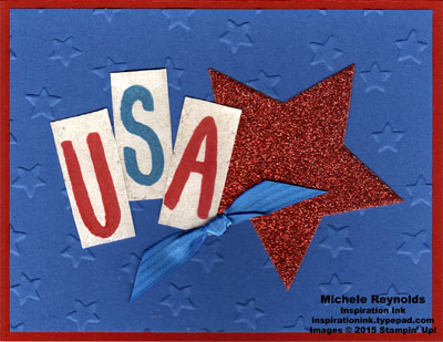 Layered letters alphabet usa stars watermark
