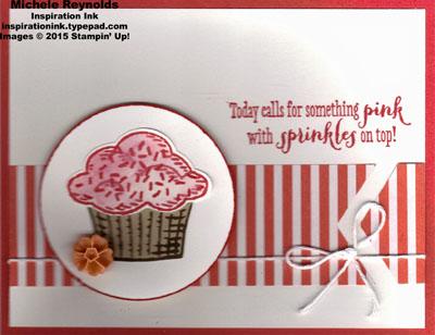 Sprinkles of life pink sprinkles cupcake watermark