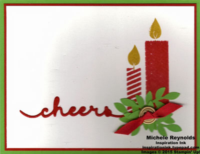 Build a birthday christmas candles cheer watermark