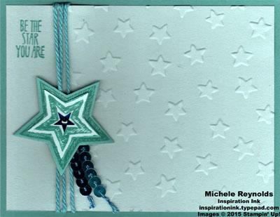 Be the star bermuda shooting star watermark