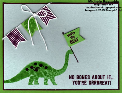 Banner banter great dino flags watermark