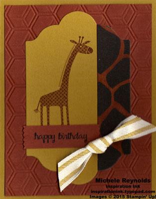 Zoo babies birthday giraffe watermark