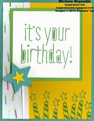 Big news birthday candles watermark