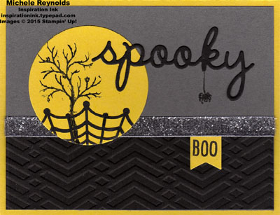 Happy scenes spooky moon silhouette watermark