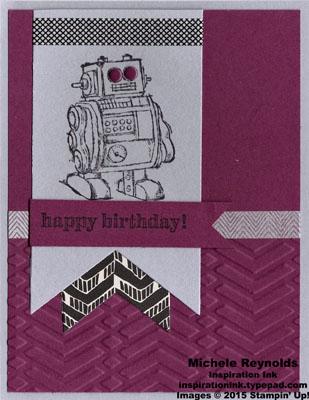 Boys will be boys zig zag robot watermark