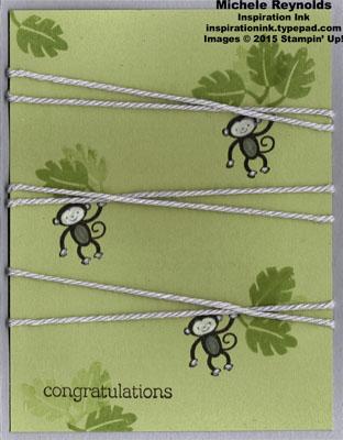 Zoo babies hanging monkeys watermark
