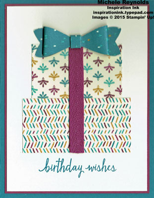 Build a birthday gift stack watermark