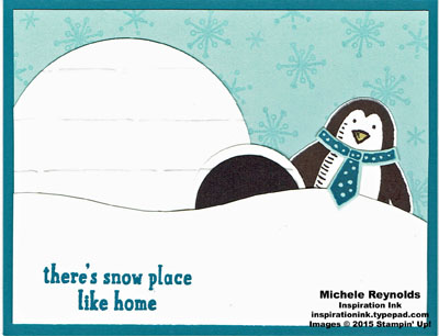 Snow place igloo home watermark