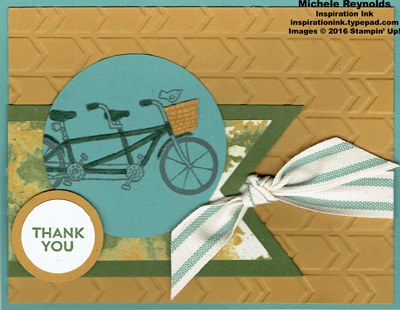 Pedal pusher thank you bike watermark