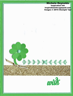 Enjoy the little things shamrock wish watermark