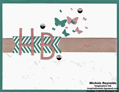 Perpetual birthay calendar HB butterflies watermark