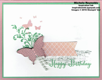 Perpetual birthay calendar butterfly watermark