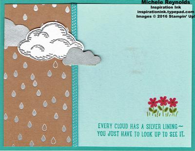 Sprinkles of life silver clouds watermark