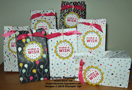 Party wishes treat bags