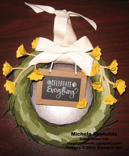 Lovely little wreath intended