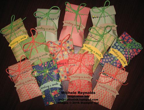 Love & affection soap pouches