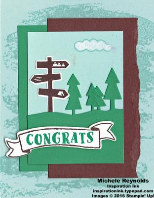 Always an adventure sign post congrats watermark