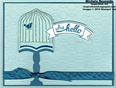 Badges & banners bird cage hello watermark