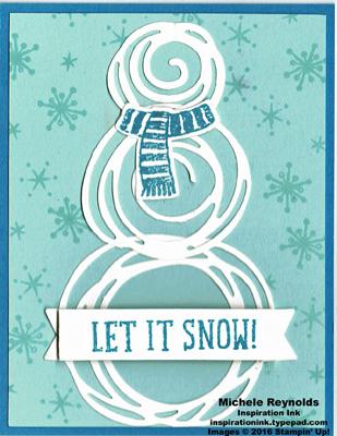 Snow place swirly snowman watermark