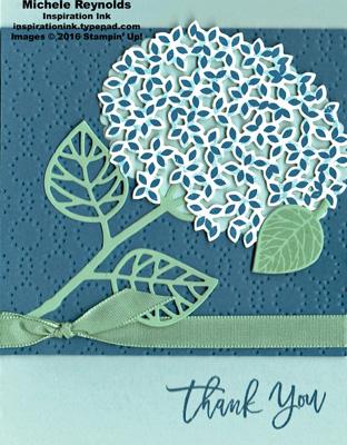 Thoughtful branches denim hydrangea watermark