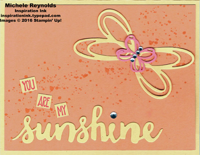 Sunshine sayings my butterfly watermark