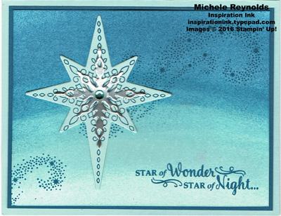Star of light sponged wonder watermark