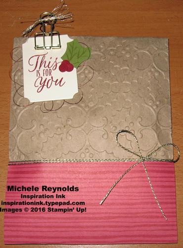Tin of tags bag of gift tags