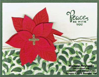 Reason for the season poinsettia paisley watermark