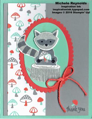 Foxy friends raccoon thanks watermark