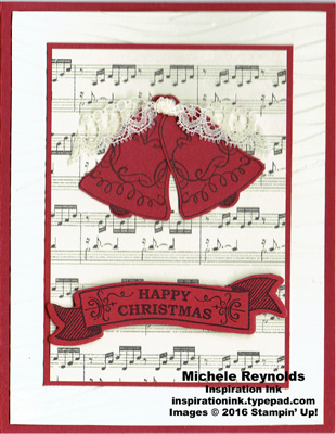 Seasonal bells musical bells watermark