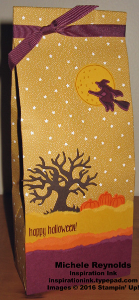 Spooky fun starry night bag