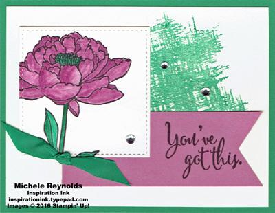 You've got this sugarplum flower watermark