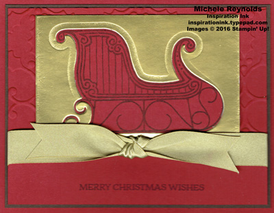 Santa's sleigh negative sleigh watermark
